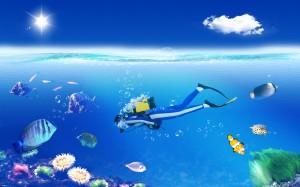 La plongée pour découvrir les merveilles des fonds marins